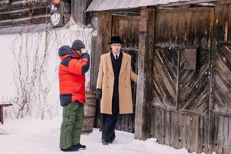 """Первый съёмочный день """"В парке Чаир"""", март 2021 г. Фото: """"Амедиа Продакшн"""""""