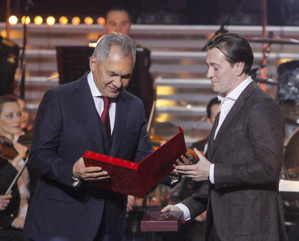 Сергей Безруков на вручении премии